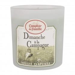 Bougie parfumée Un dimanche à la campagne Comptoir de Famille