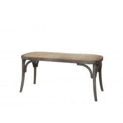 Banc en osier Chic Antique