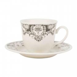 6 Tasses à thé Clothilde - Comptoir de Famille
