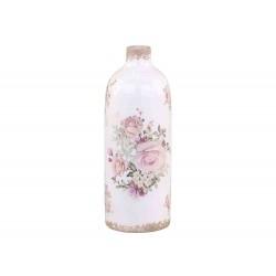 Vase avec motifs fleurs Chic Antique