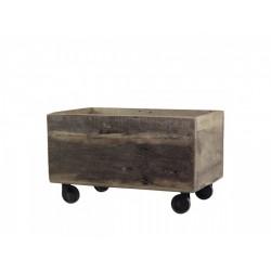 Boîte de rangement à roulettes Grimaud Chic Antique