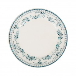 Assiettes à dessert Faustine Bleues Comptoir de Famille par 6