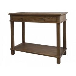 Console en bois avec tiroir Chic Antique