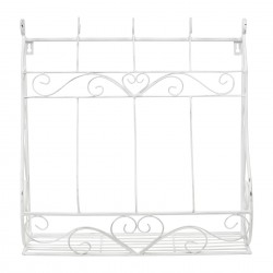 Porte plante murale Comptoir de Famille blanc