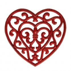 Dessous de plat coeur...