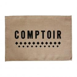 Set de table Comptoir