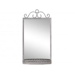 Miroir avec étagère Chic Antique