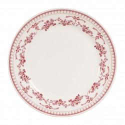 Assiettes plates Faustine...