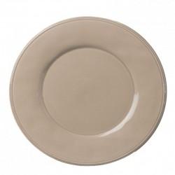 6 Assiettes plates Constance mastic Côté Table